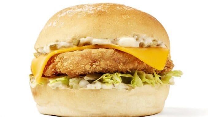 Filet no Fish Neat Burger
