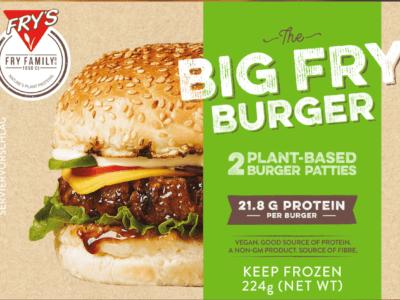 Fry's Big Fry Burger