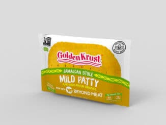 Golden Krust Beyond Meat Patties Packaged