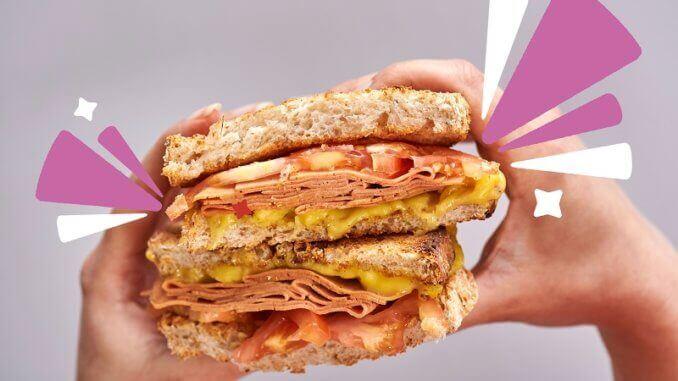 Ham & cheese melt Squeaky Bean
