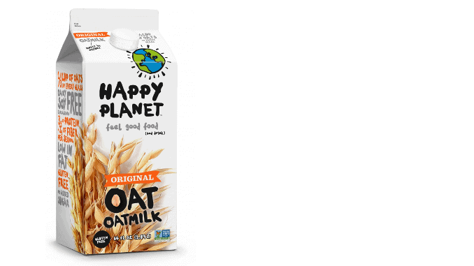Happy Planet Oat Milk