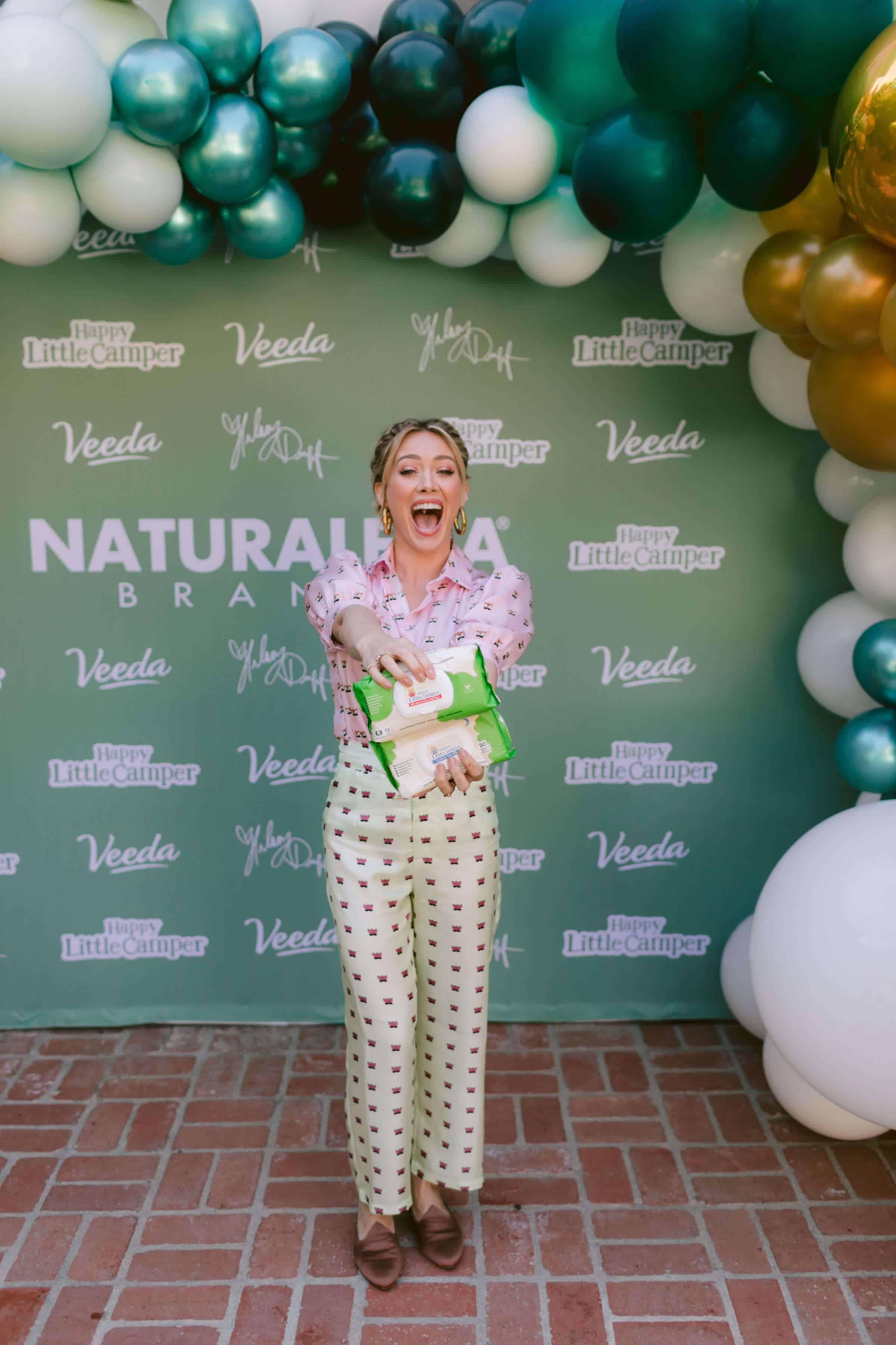 Hilary Duff & Naturalena Brand Launch