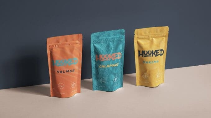 Swedish startup Hooked is developing a plant-based alternative to shredded salmon.