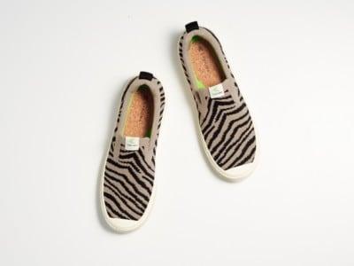 IBI Slip On Zebra Cariuma