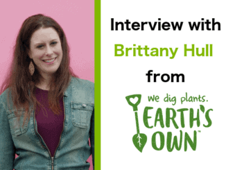 Interview with Brittany Hull, Director of Marketing at Earth's Own