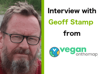 Interview with Geoff Stamp from veganonthemap