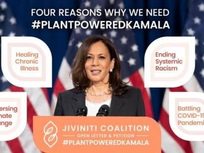 Jivinti campaign Kamala Harris