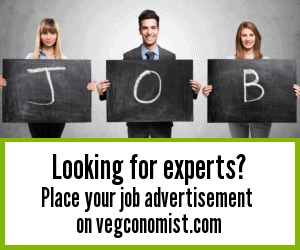 Looking for experts? Place your job advertisement on vegconomist.com (often misspelled as veconomist)