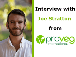 Joe Stratton Interview Campaigner ProVeg International VegMed 2019 London
