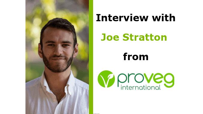 Joe Stratton Interview Campaigner ProVeg International VegMed 2019 London