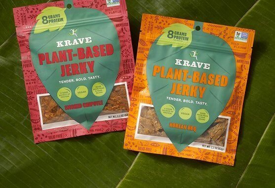 KRAVE introduces new Plant-Based Jerky