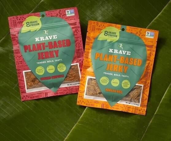 KRAVE introduces new Plant-Based Jerky