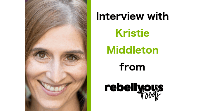 Kristie Middleton Vice President, Business Development at Rebellyous Foods