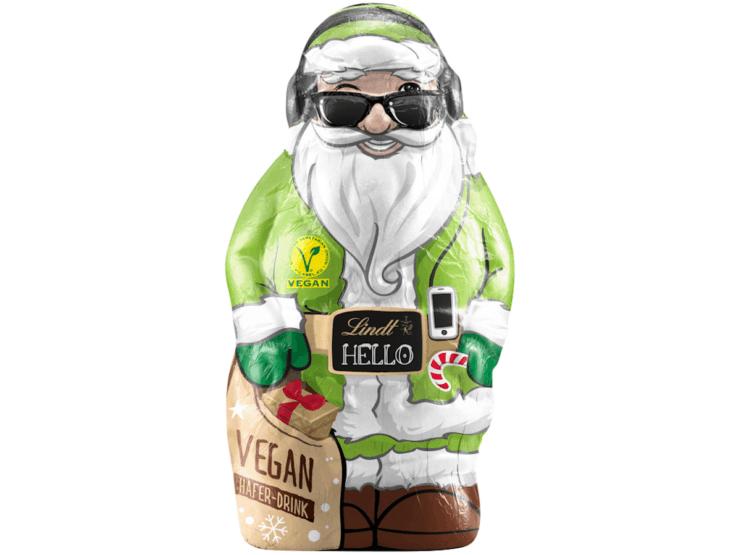 Lindt vegan Santa Claus