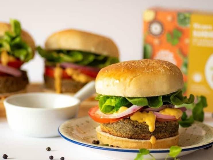 The Live Green Co. burgers