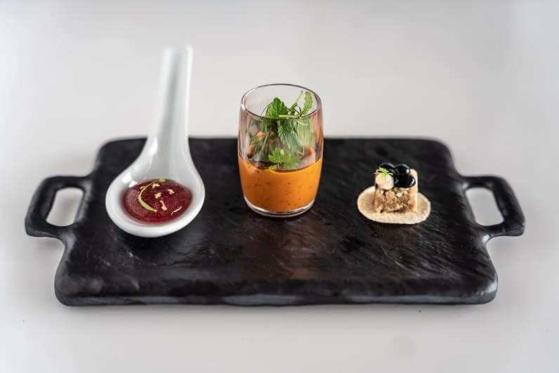 Lobster terrine, Shiok Meats