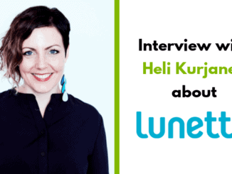 Heli Kurjanen, CEO and founder of Lune Group Oy Ltd