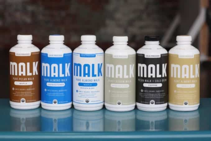 Cold-Pressed Organic Plant Milk From MALK Organics at Whole Foods
