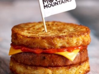 Moving Mountains pork burger