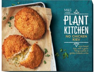 Marks and Spencer vegan kiev