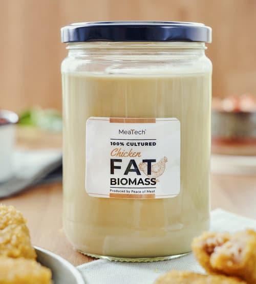 MeaTech cultured fat