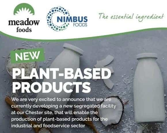 Dairy Group Meadow Foods Invests £4M for New Plant-Based Facility in UK