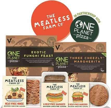 The Meatless Farm Partners With One Planet Pizza its First Online Delivery Service
