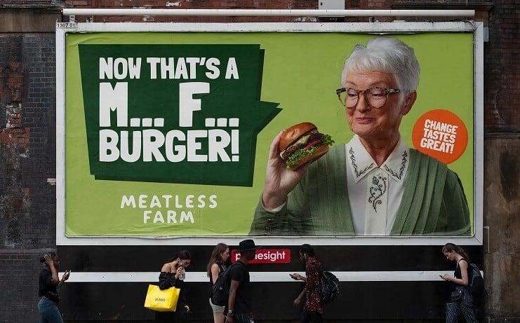 Meatless Farm billboard