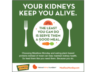 Meatless Monday for Kidney Health