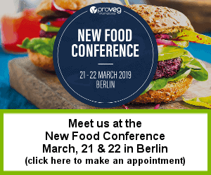 Meet us at the New Food Conference