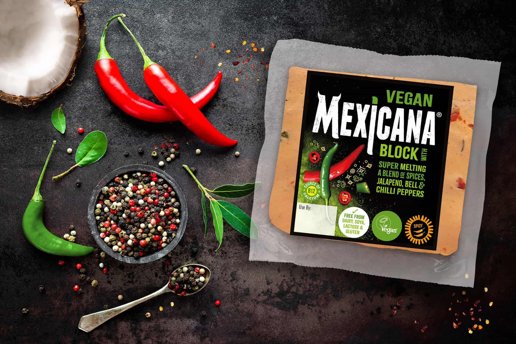Norseland Mexicana Vegan cheese