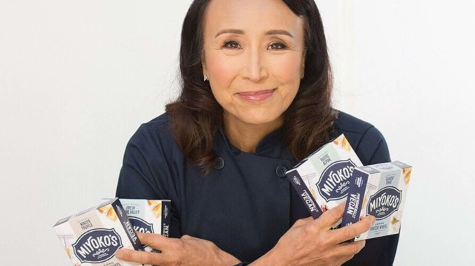 Miyoko with cheese