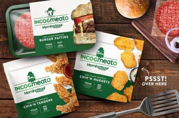 MorningStar Farms Incogmeato Line Up