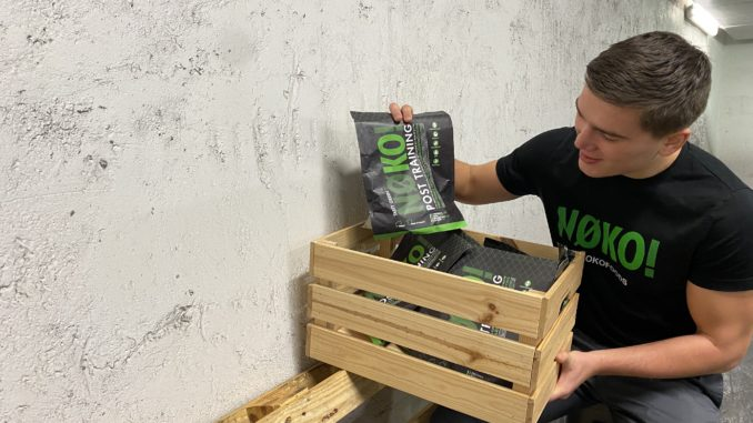 NOKO founder with products