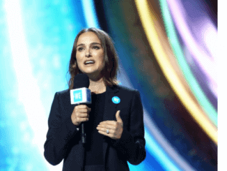 Natalie Portman at WE Day