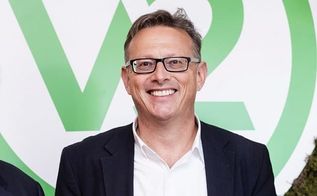 Nick Hazell, CEO v2food