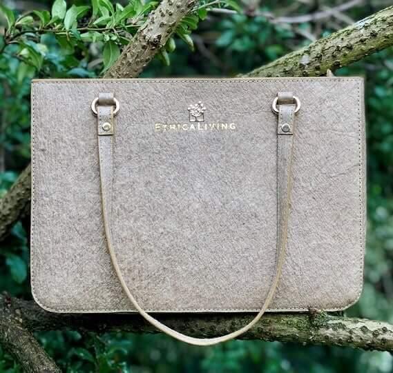 Natural coconut bag, EthicaLiving