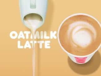 Dunkin' Oatmilk Latte