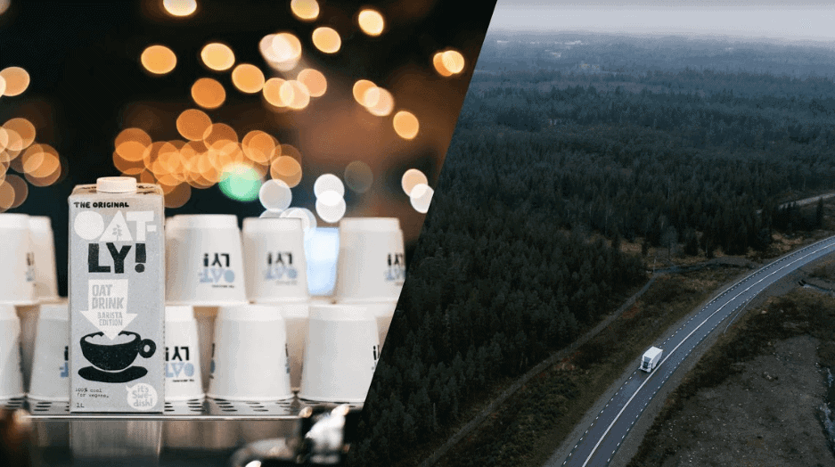 Driving Change – Oatly Joins Forces with Einride to Deliver Oat Milk With Electronic Transport