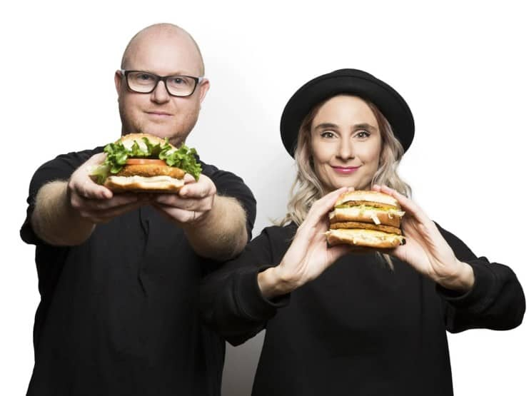 Odd Burger founders