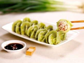 OmniPork boiled dumplings by BaFang YunJi, biggest QSR in Taiwan
