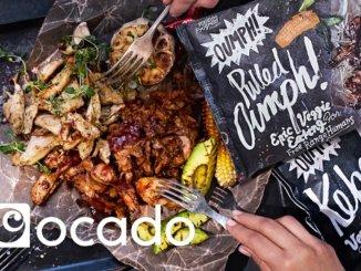 Oumph in Ocado with Ocado logo