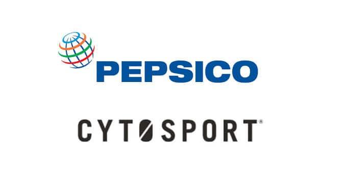 Pepsi Co and CytoSports Logos