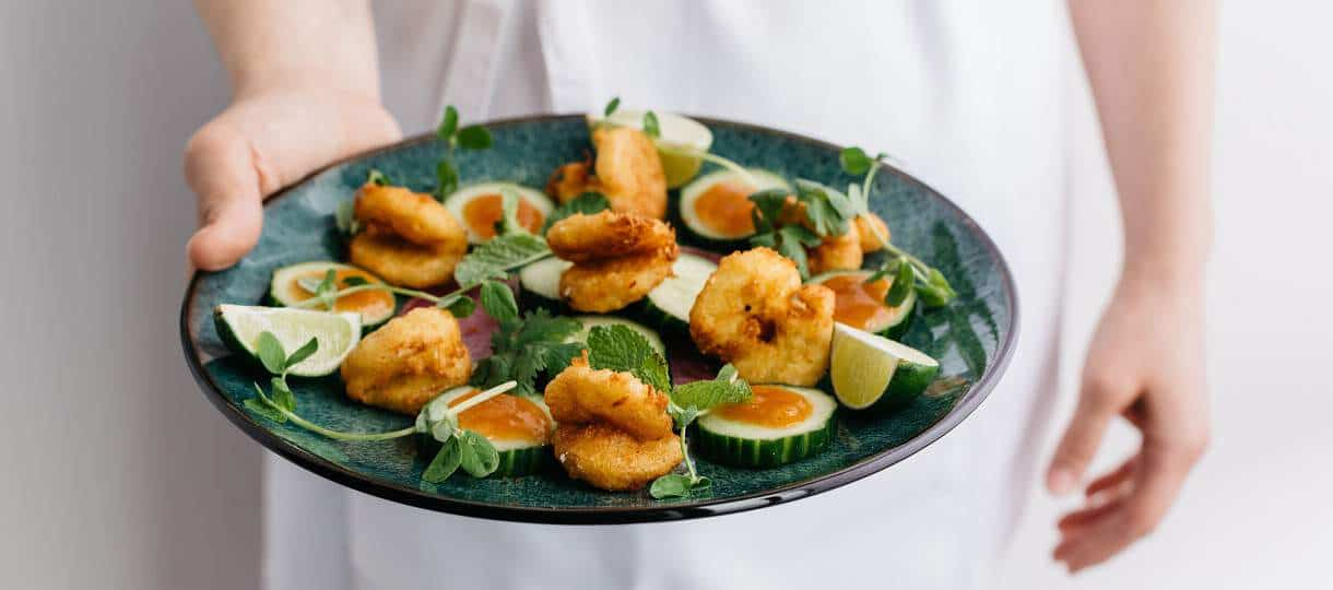 Tyson-Backed New Wave Foods Launches Its Seaweed Based Shrimp in the USA - vegconomist - the vegan business magazine