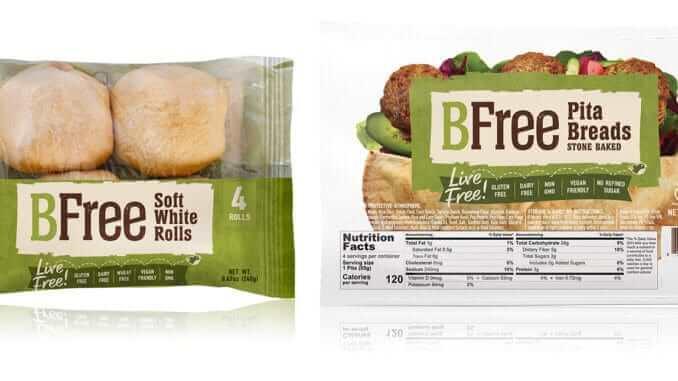 Publix Pita WhiteRolls BFree Foods