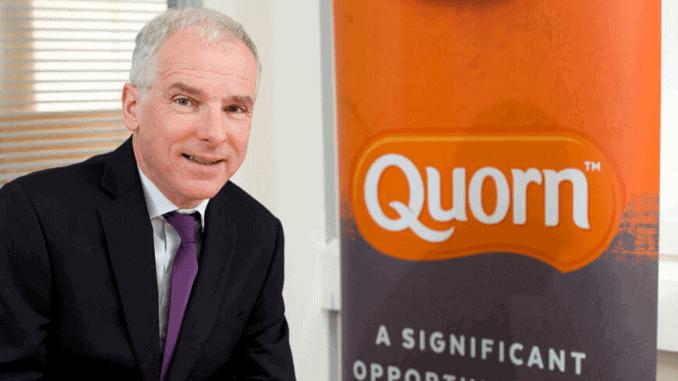 Quorn CEO Kevin Brennan