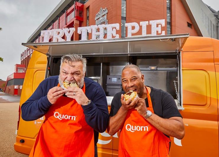 liverpool fc quorn pie