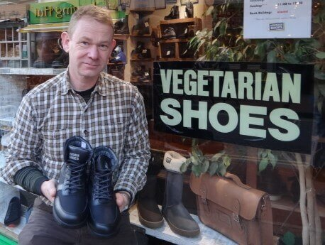 Robin Webb, Founder Vegetarian Shoes