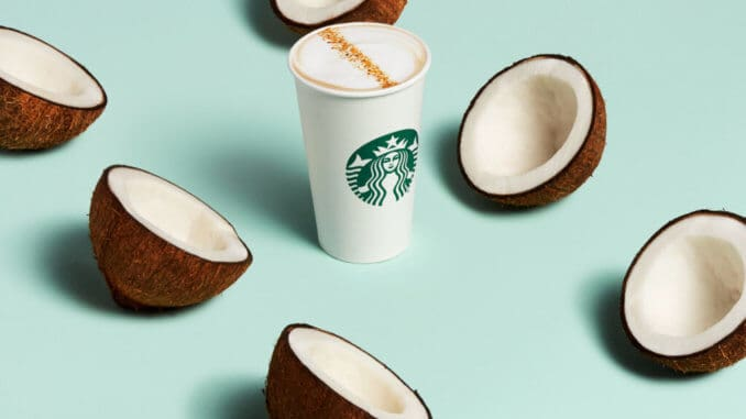 Starbucks coconut