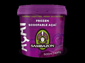 Sambazon Scoopable Açaí 500ml tub